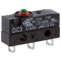 Medium Sim Roller Solder Cherry DB2C-A1SC Microswitch SPDT 10A 250V AC